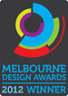 Melbourne design awards 2012 winner badge