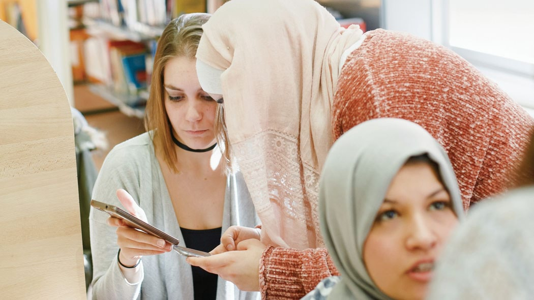 Women in library