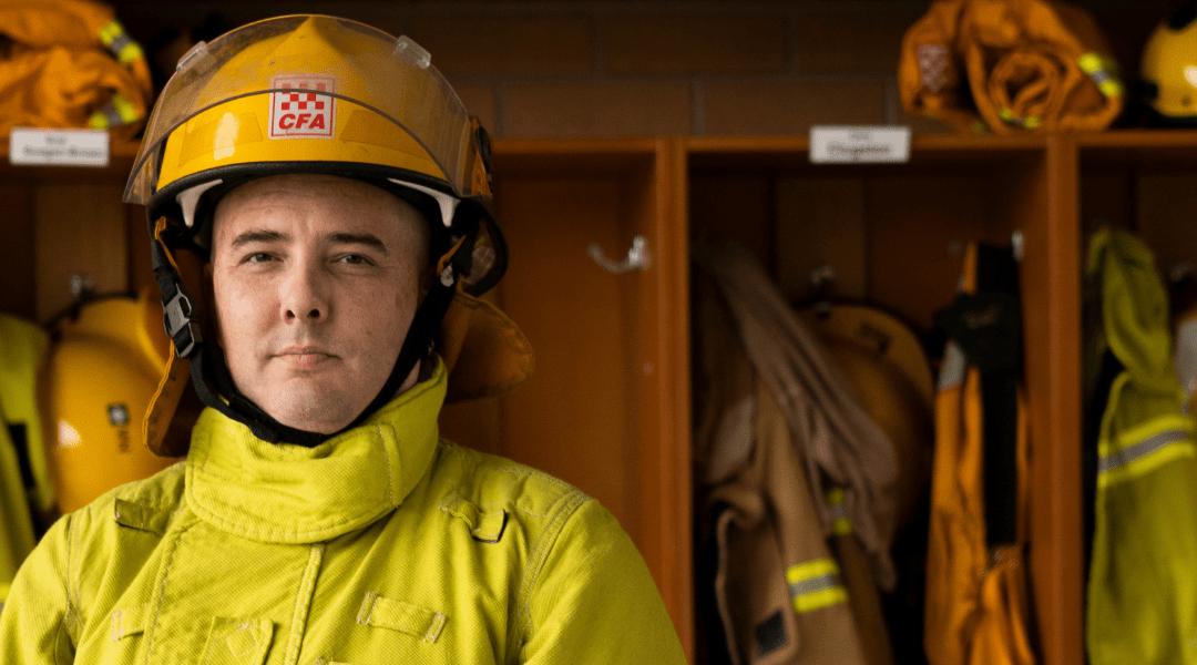 Peter Green - CFA firefighter