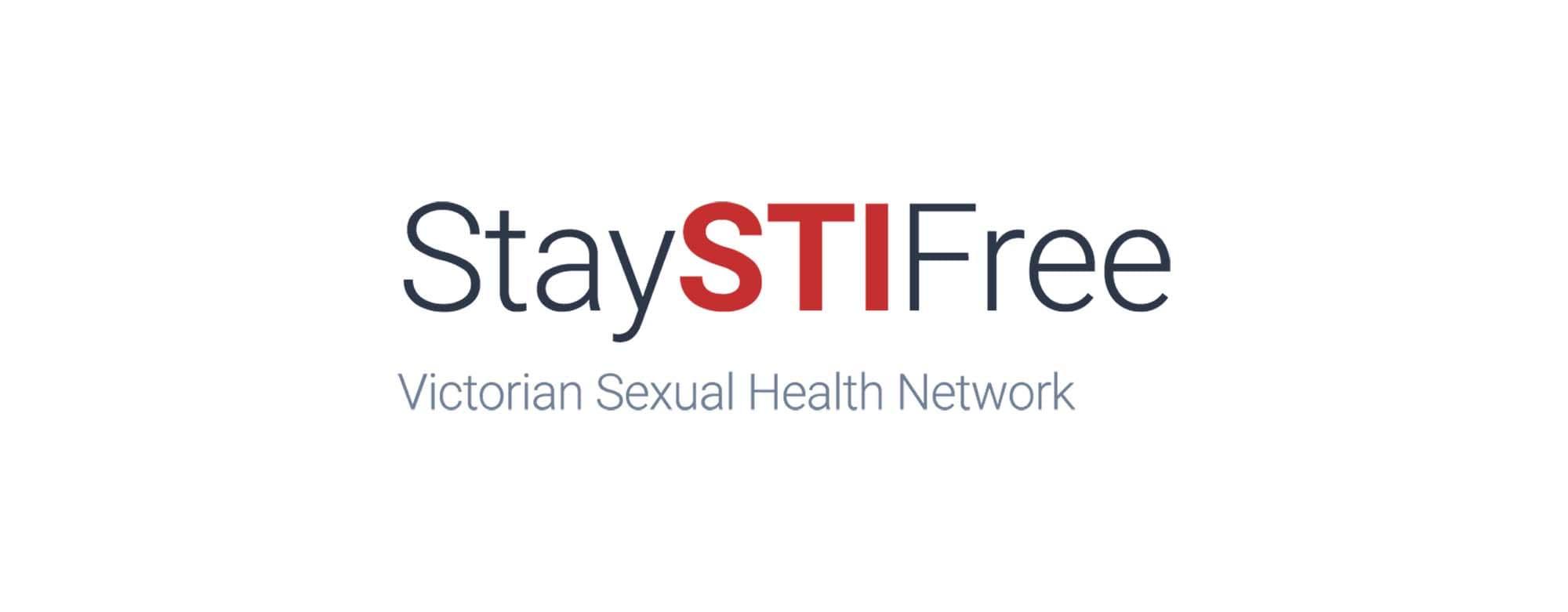 Stay STI free - Victorian Sexual Health Network - logo