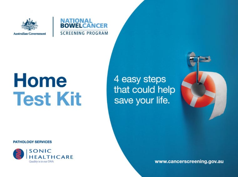 Home test kit - 4 easy steps that could help save your life.