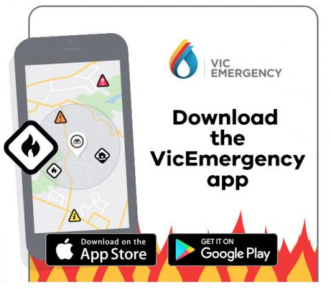 Download the VicEmergency app